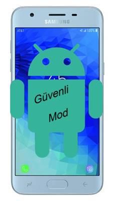 Samsung Galaxy J3 2018 güvenli mod
