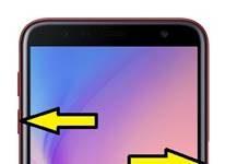 Samsung Galaxy J6 Plus ekran görüntüsü alma