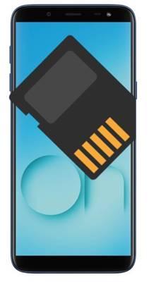Samsung Galaxy On6 SD kart biçimlendirme