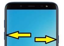 Samsung Galaxy On6 ekran görüntüsü alma