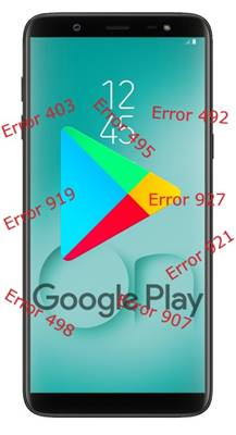 Samsung Galaxy On8 2018 Google Play hataları