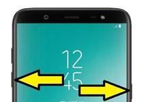 Samsung Galaxy On8 2018 ekran görüntüsü alma