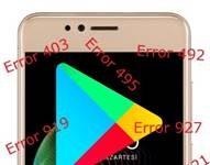 Vestel Venus E3 Google Play Store hataları