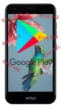 Vestel Venus V5 Google Play Store hataları