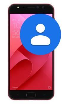 Asus Zenfone 4 Selfie Pro ZD552KL rehberi aktarma