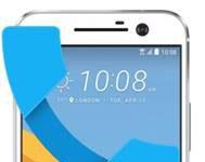 HTC 10 gelen arama ekranı