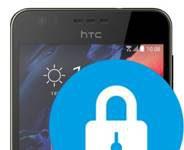 HTC Desire 10 Lifestyle ekran kilidi ayarları
