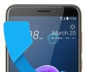 HTC Desire 12 gelen arama ekranı
