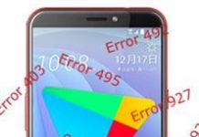 HTC Desire 12s Google Play Store hataları