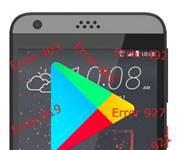 HTC Desire 630 Google Play Store hataları