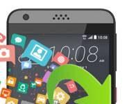 HTC Desire 630 veri yedekleme