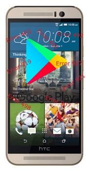 HTC One M9 Google Play Store hataları