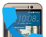 HTC One M9 gelen arama ekranı gösterme