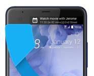 HTC U Ultra gelen arama ekranı