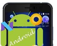 HTC U11 Android sürümü