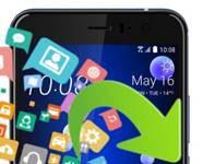 HTC U11 veri yedekleme