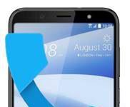 HTC U12 Life gelen arama ekranı