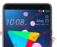 HTC U12 Plus Google Play Store hataları