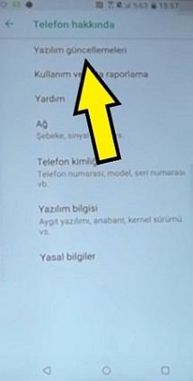 HTC güncelleme