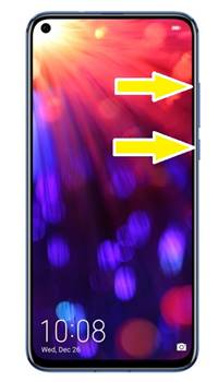 Huawei Honor V20 format atma