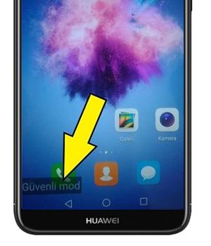 Huawei telefonum güvenli moddan çıkmıyor
