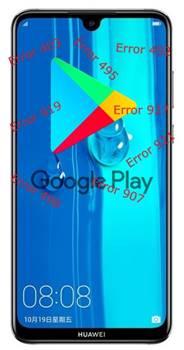 Huawei Enjoy Max Google Play Store hataları