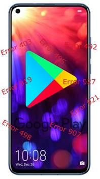 Huawei Honor V20 Google Play hataları
