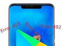 Huawei Mate 20 Pro Google Play hataları
