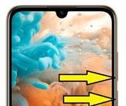 Huawei Y6 Pro 2019 ekran görüntüsünü alma