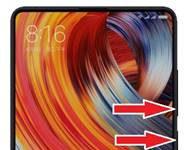Xiaomi Mi Mix 2 ekran goruntusu alma