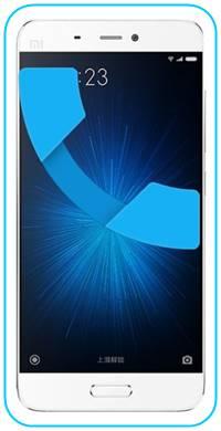 Xiaomi Mi 5 gelen arama ekranı gösterme
