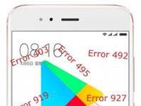 Xiaomi Mi 5X Google Play Store hataları