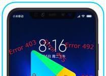 Xiaomi Mi 8 Pro Google Play hataları
