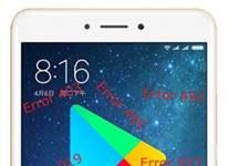 Xiaomi Mi Max 2 Google Play Store hataları