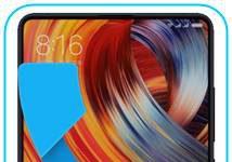 Xiaomi Mi Mix 2 gelen arama ekranı gösterme