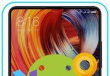 Xiaomi Mi Mix 2 güncelleme