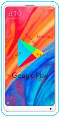 Xiaomi Mi Mix 2S Google Play hataları