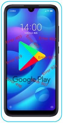 Xiaomi Mi Play Google Play hataları