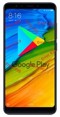 Xiaomi Redmi 5 Google Play Store hataları