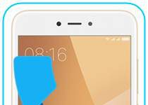 Xiaomi Redmi Note 5A gelen arama ekranı gösterme