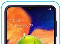 Samsung Galaxy A10 fabrika ayarları sıfırlama