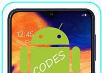 Samsung Galaxy A10 kodlar