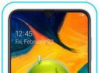Samsung Galaxy A30 fabrika ayarları sıfırlama