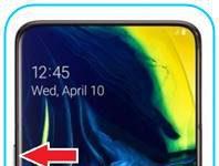 Samsung Galaxy A80 format atma