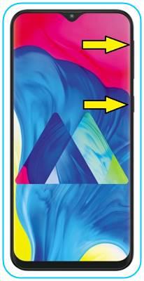 Samsung Galaxy M10 format atma