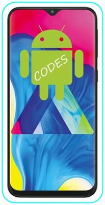 Samsung Galaxy M10 kodlar