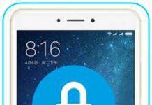 Xiaomi Mi Max 2 ekran kilidi