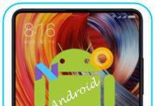 Xiaomi Mi Mix 2 Android sürümü