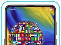 Xiaomi Mi Mix 3 dil değiştirme