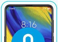 Xiaomi Mi Mix 3 ekran kilidi